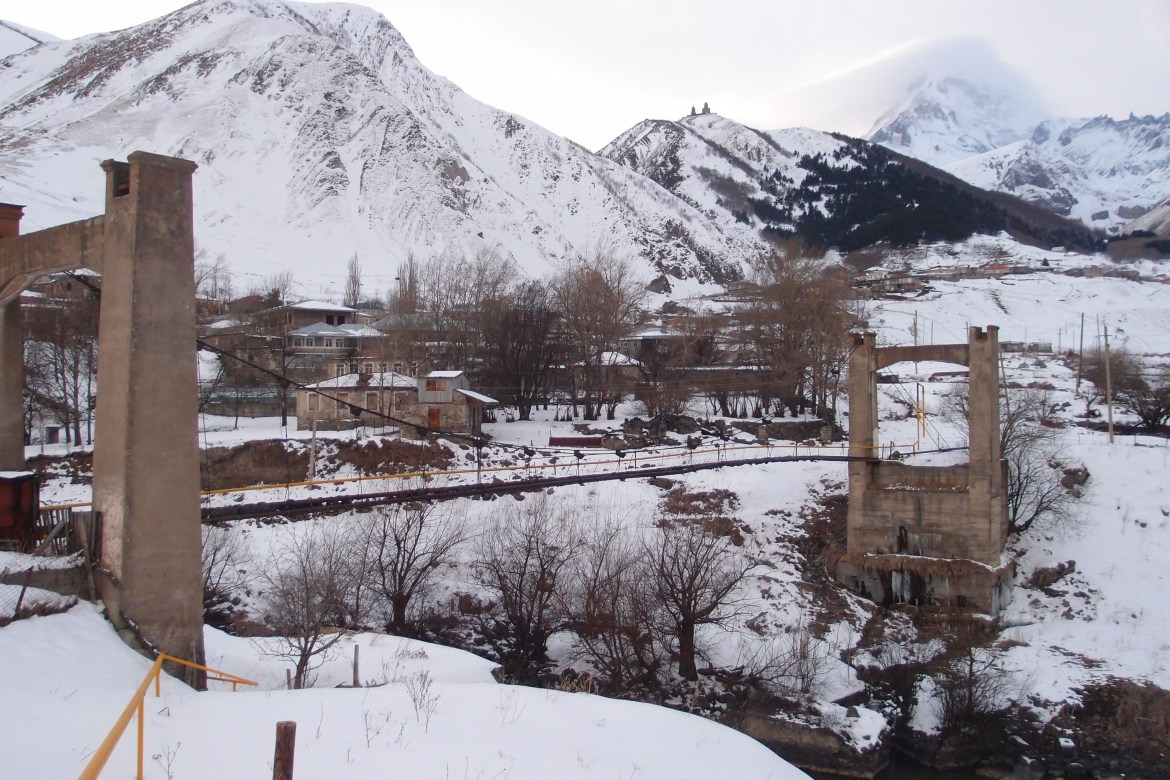 Bridge in Kazbegi