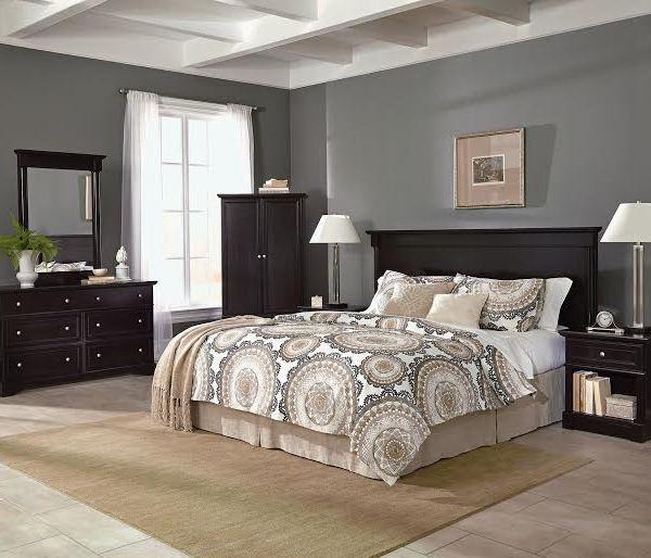 Sauder 549aebds Avenue Eight 4 Piece Bedroom Set Sauder The Furniture Co