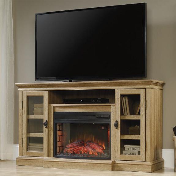 Sauder Barrister Lane Fireplace Tv Stand 419118 Sauder