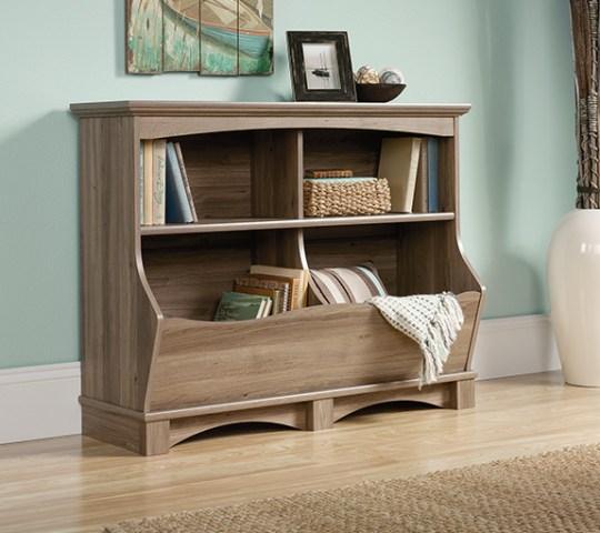 Sauder Harbor View Bin Bookcase – The Furniture Co
