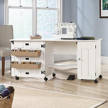 Sauder Sewing Craft Cart 414873 Sauder The Furniture Co