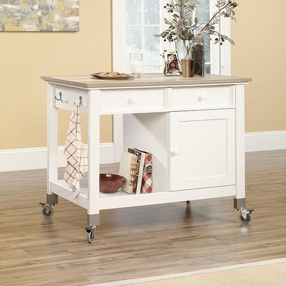 Sauder 416879 Mobile Kitchen Island Sauder The Furniture Co