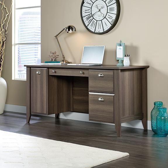 Sauder 420166 Shoal Creek Computer Desk The Furniture Co