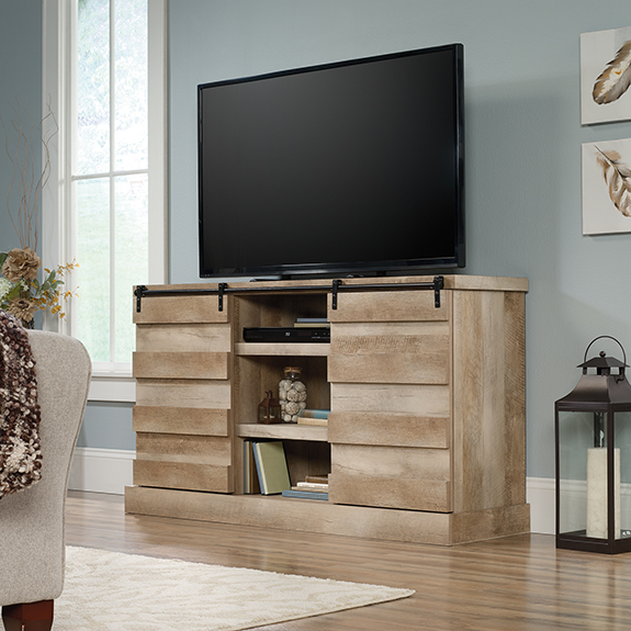 sauder cannery bridge credenza tv stand - Sauder Tv Stands