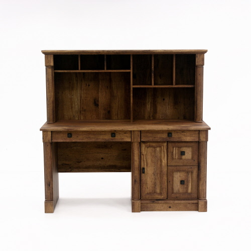 Sauder Palladia Computer Desk With Hutch 420713 The Furniture Co
