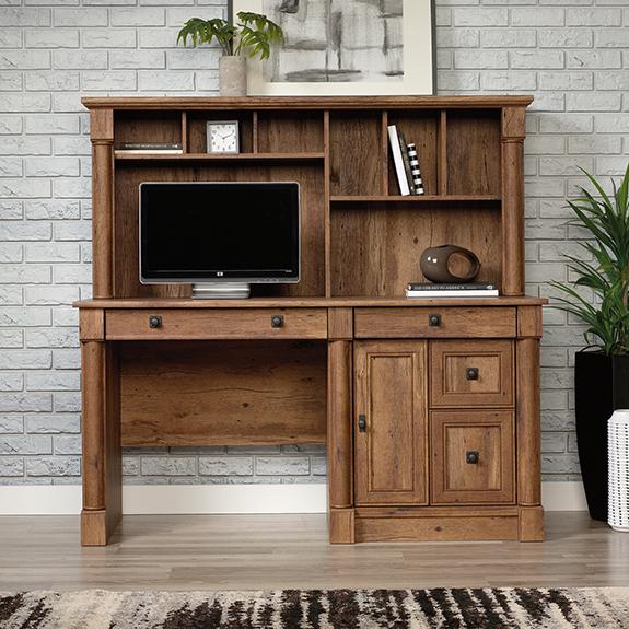 Sauder Vine Crest Computer Desk W Hutch 421972 Sauder