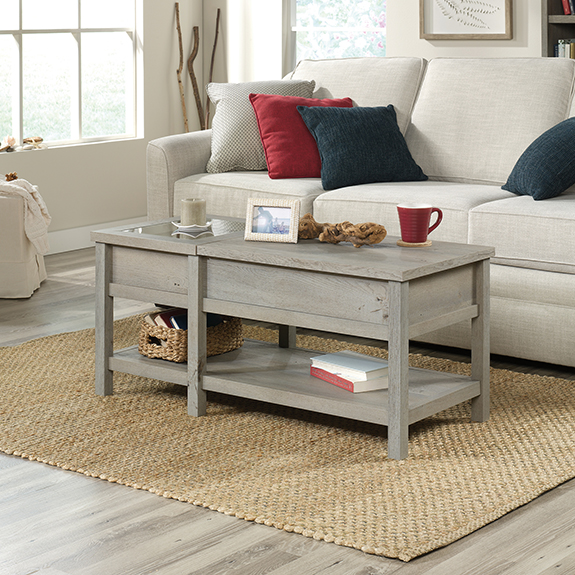 Sauder Cottage Road Lift Top Coffee Table ...