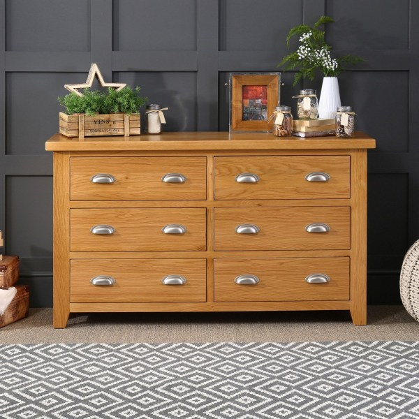 Oak Furniture UK  Buy Solid Oak Furniture Online  Low Prices   The     Cheshire Oak  Hereford Oak Furniture