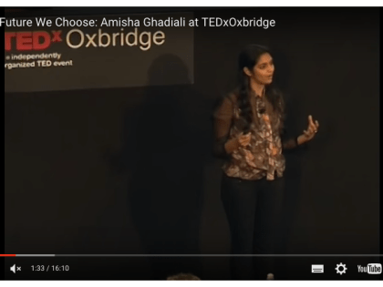 Tedx: The Future We Choose – A Time For New Dreams