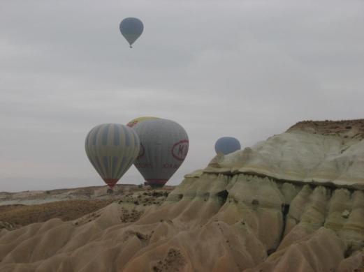 hot air balloon in Cappadocia turkey