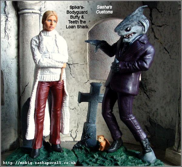 Buffy and Teeth the loan shark - Ms. Big