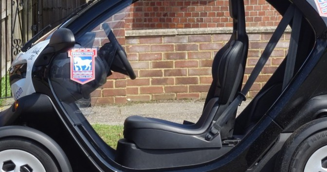 The Renault Twizy reviewed by Matt Porter, BBC Radio Suffolks Gadget Man