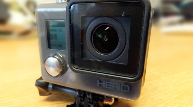 GoPro Hero review by Matt Porter on BBC Radio Suffolk