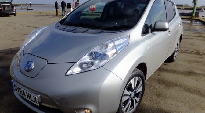 The Gadget Man – Episode 36 – Nissan Leaf Tekna – Pure Electric Vehicle