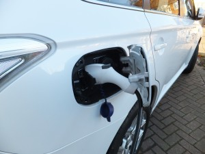 Mitsubishi Outlander PHEV, plugin port