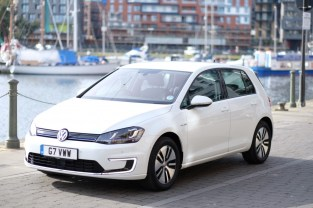 VW E-Golf Electric Vehicle
