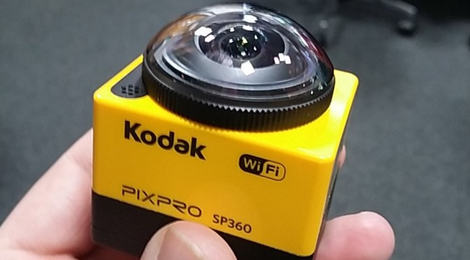 Kodak PixPro SP360 reviewed by Matt Porter, The Gadget Man