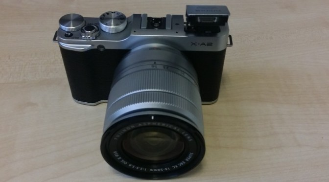 Fujifilm X-A2 Compact Mirrorless Camera
