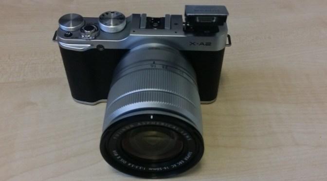 The Gadget Man – Episode 51 – Fujifilm X-A2 Mirrorless Compact Camera