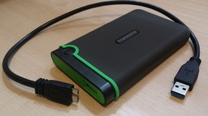 Transcend Storejet 25M3 1TB USB 3.0 Hard Disk