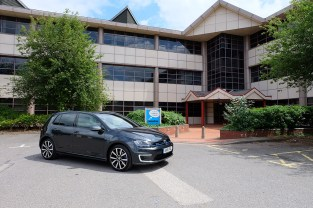 Volkswagen Golf GTE at Innovation Martlesham on Adastral ParkVolkswagen Golf GTE at Innovation Martlesham on Adastral Park