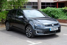 Volkswagen Golf GTE at Innovation Martlesham on Adastral Park