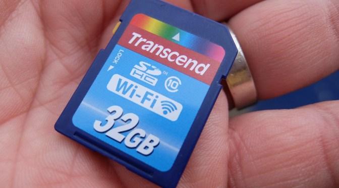 The Gadget Man – Episode 65 – Transcend WiFi 32GB SD Card