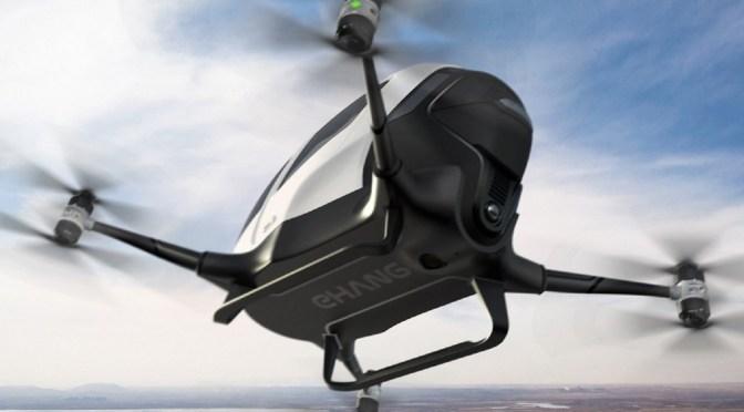 The Gadget Man – Episode 82.6 – Human Transportation via drone – EHANG 184
