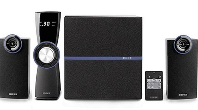 The Gadget Man – Review – Edifier C2V – 2.1 Speaker System for Gaming and Music