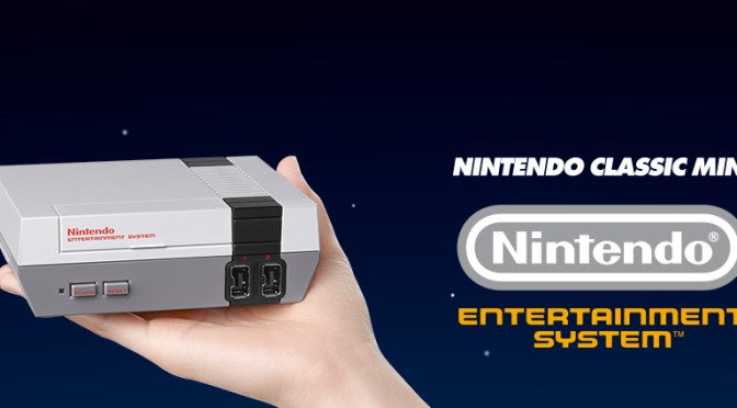 Nintendo Classic Mini: Nintendo Entertainment System, now we can all relive the 80's