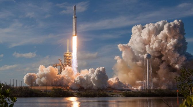 Elon Musk and the SpaceX launched a Tesla Roadster into space with the help of David Bowie!