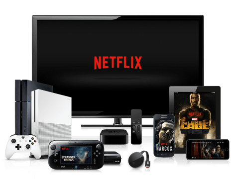 We can now consume our TV using a variety of devices - Image Credit: Netflix