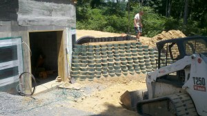 Vegetative Retaining walls