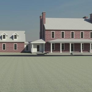 Historic Home Garage addition study