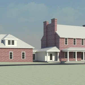 Historic Home Garage addition study