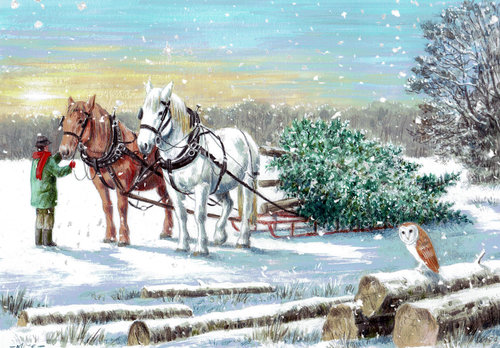 2017 Equestrian Christmas Cards Features The Gaitpost
