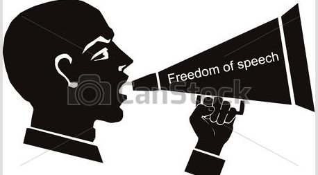 freedom of speech symbol by courtesy of canstock photo the gambia