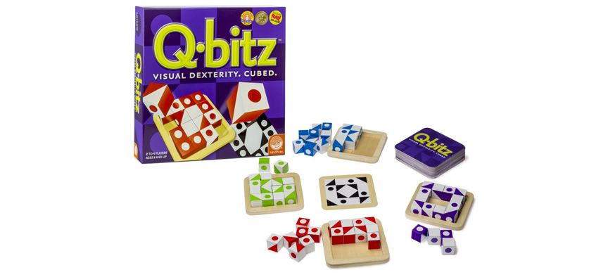 """Q-Bitz: An awesome """"Toy with Rules"""" kind of game"""