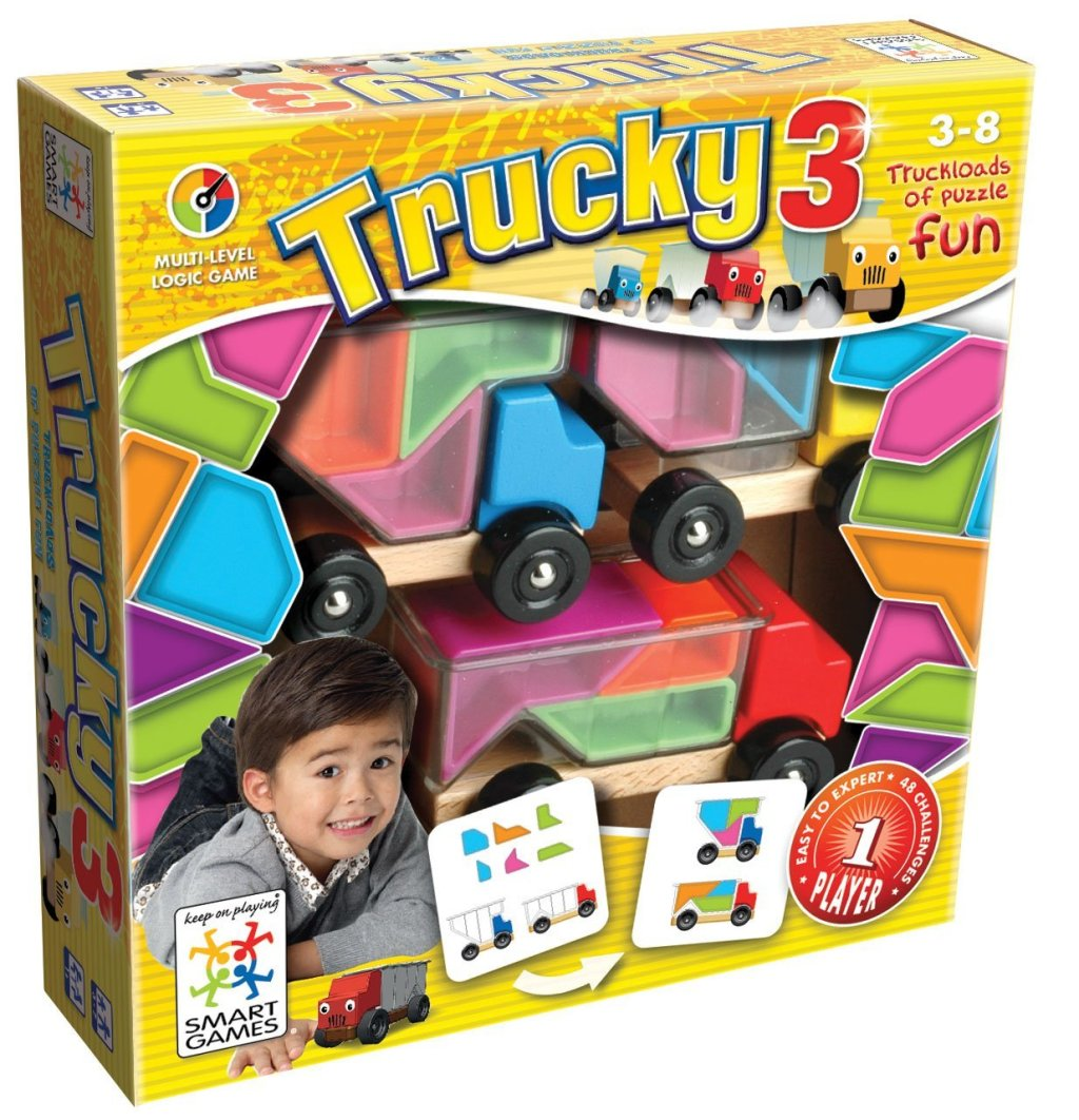 Trucky 3: Truckloads of easy to hard puzzle fun!