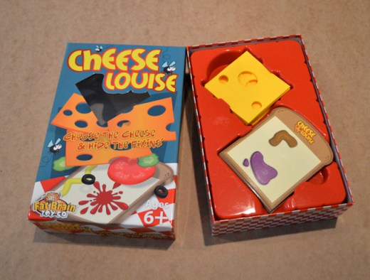 cheese Louise in box