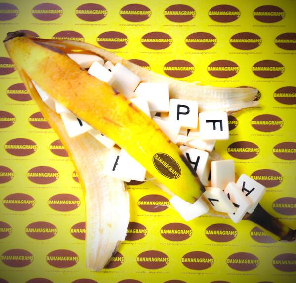 Bananagrams REAL Peels