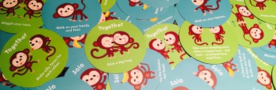 Monkey Around, a game for 2 year olds: Get those little gamers started young!