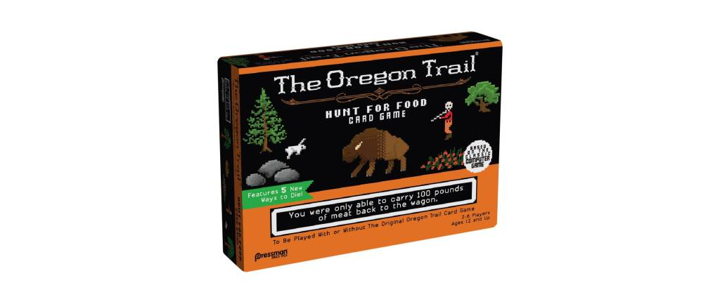 The Oregon Trail Hunt for Food Card Game: More ways to die!