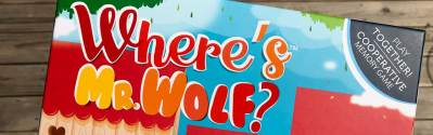 Where's Mr. Wolf?: Cute Cooperative Game from Blue Orange