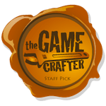 Selected as a Staff Pick by The Game Crafter