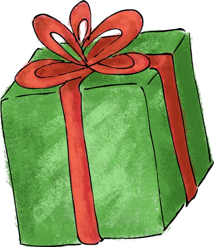 Unopened gift christmas play ideas