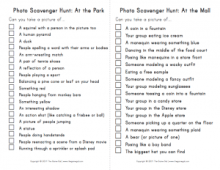 Scavenger Hunt List >> Photo Scavenger Hunt List The Game Gal