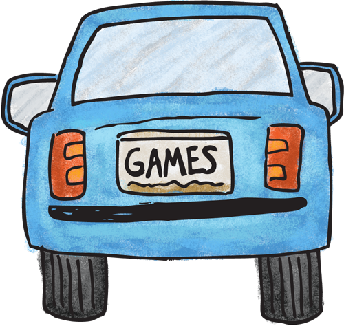License plate search game - The Game Gal