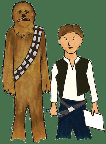 Pictionades (pictionary meets charades): Star Wars version ...