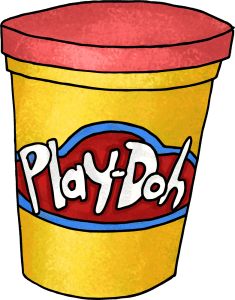 Play-doh blow darts